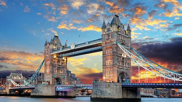 Le Tower Bridge à Londres