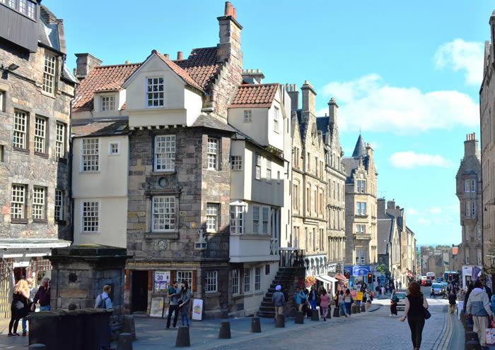 Maison de John Knox Edimbourg Royal Mile