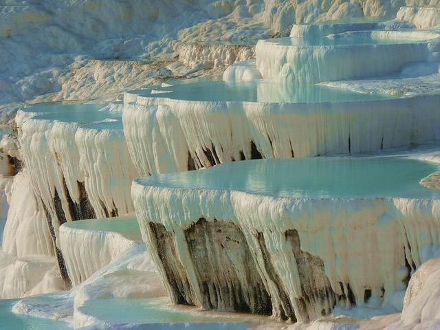Le site naturel de Pamukkale en Turquie